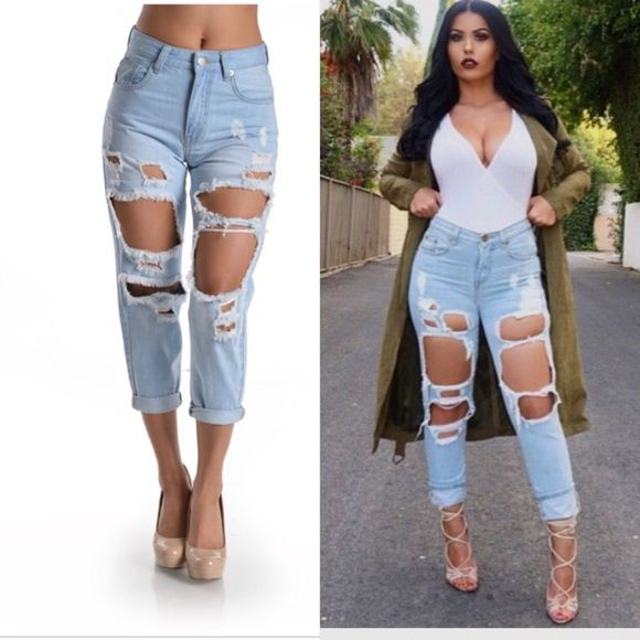 PRE ORDER NOW❤️Steal Your Boyfriend Jeans *100% Cotton.                                                             *Shipment will arrive 2/19.                                         *Will ship no later than 2/20 Jeans Boyfriend