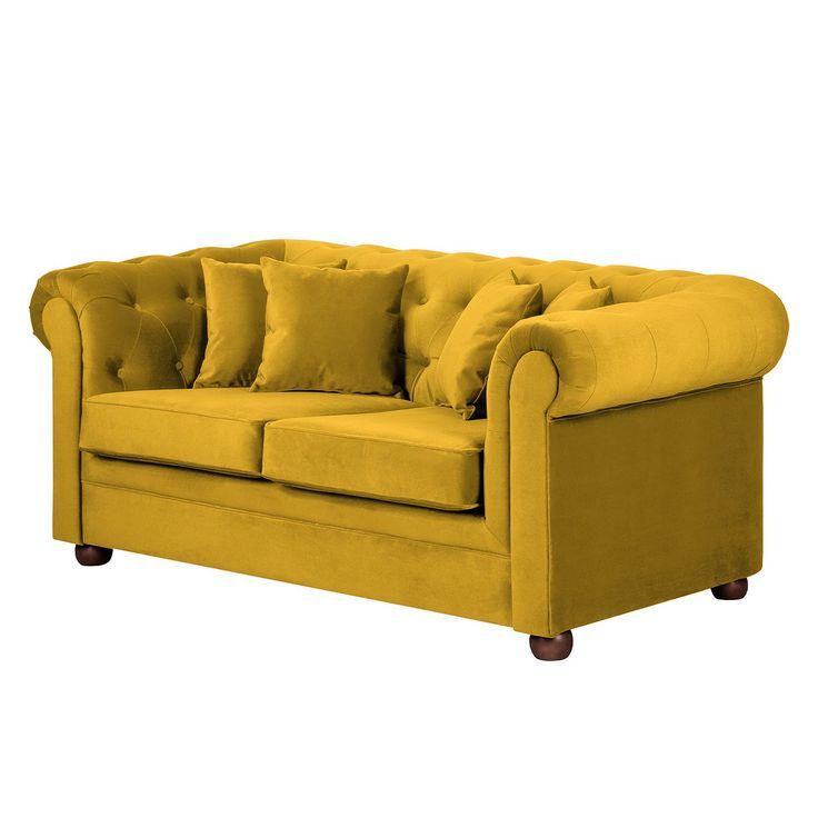 Sofa Upperclass 2 Sitzer Samt