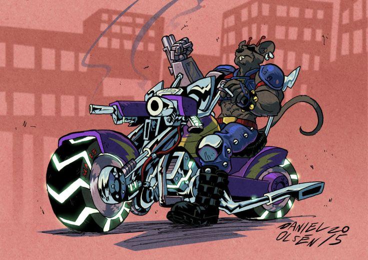 motorcycle biker mice - 1000×707