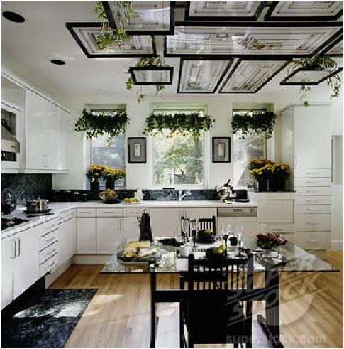 someday i will do this graceful hanging plants in the kitchen 1 skip valences and affix. Black Bedroom Furniture Sets. Home Design Ideas