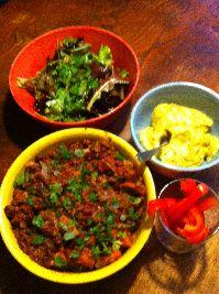 Een heerlijk recept met kidneybonen en rode linzen. Echt een Voedselzandloper-proof gerecht om te eten als het buiten koud is!