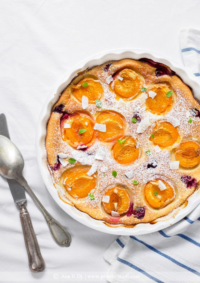 Salts, Cherry clafoutis and Cherries on Pinterest