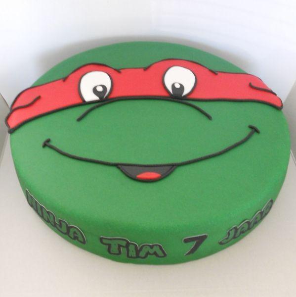 18 Besten Ninja Turtles Bilder Auf Pinterest: 25+ Beste Ideeën Over Ninja Turtle Taarten Op Pinterest