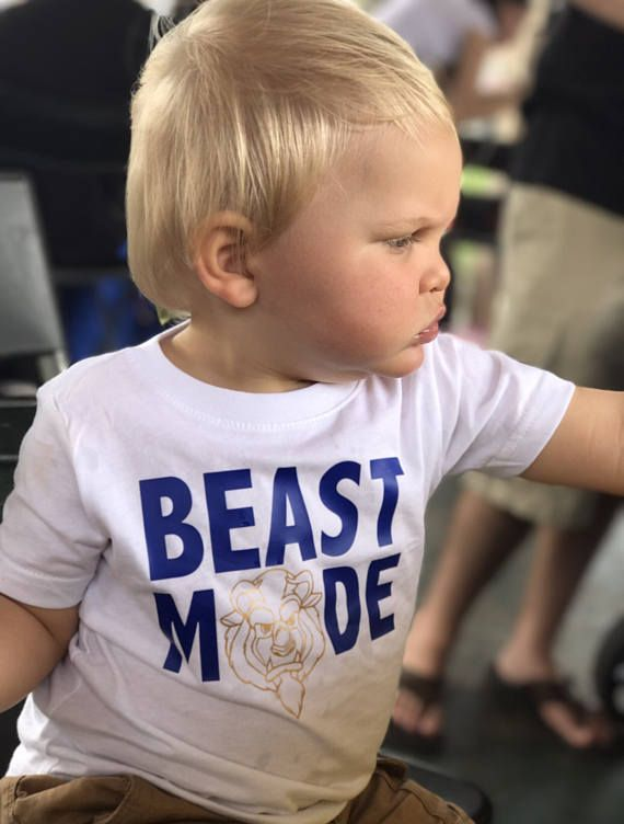 Disney beauty and the beast beast shirt boys beast mode shirt