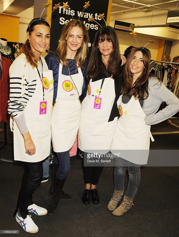 Yasmin LeBon Trinny Woodall Lisa B and Melanie Blatt attend the Really Really Great Garage Sale...