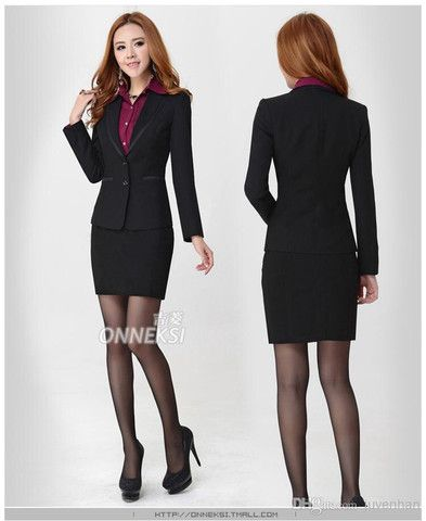 Fashion high quality lady career suits women work clothes business sui – teeteecee - fashion in style