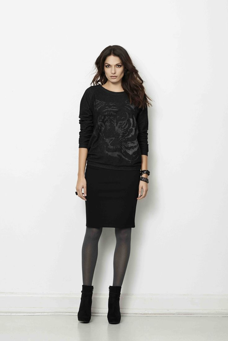 soyaconcept - knit - blouse - skirt
