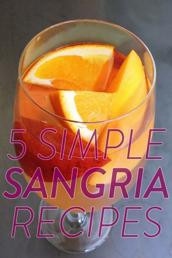 Tested: The 5 Best Simple Sangria Recipes