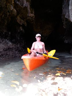 Ao Thalane -  a karst-walled cavern.