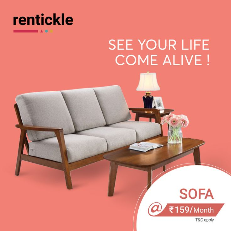 Quality doesn't have to be expensive,  Save Money. Live Better.  Rent Now!  Pick from our premium range of Sofa Sets! . . . #rent #tumblr #tumblraesth…