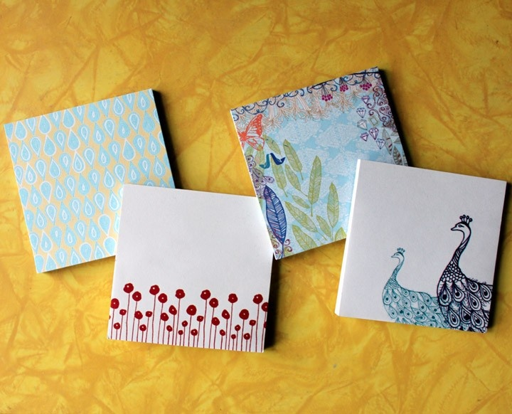 Custom Colour Sticky Notes Clan Design   Print Bureau ...   Sticky Note Design