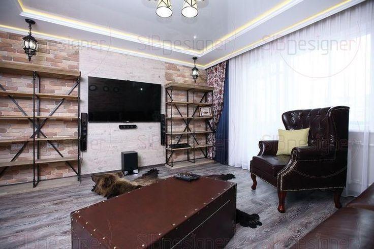 Фото интерьера зала. Зал: дизайн зала. - СибДизайнер.ru