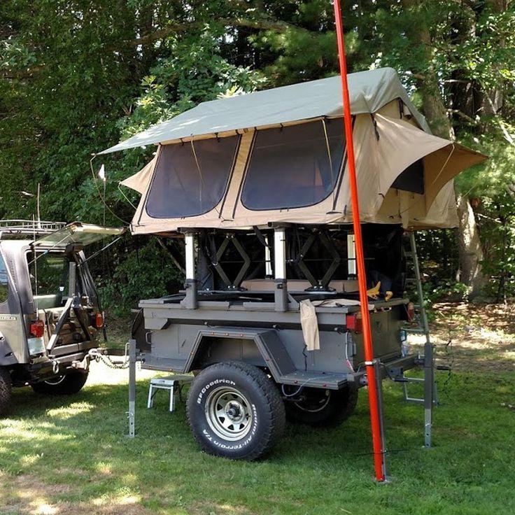"Tuff Stuff® ""Elite"" Overland Roof Top Tent & Annex Room, 5"