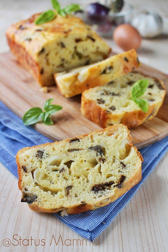 Plumcake di melanzane e fontina gustoso | Status mamma