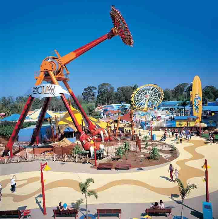 Dreamworld on the Gold Coast.  Have a full day of family fun!