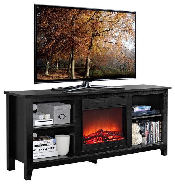 awesome Top 10 Best Electric Fireplace TV Stand Reviews -- Making the Right Choice