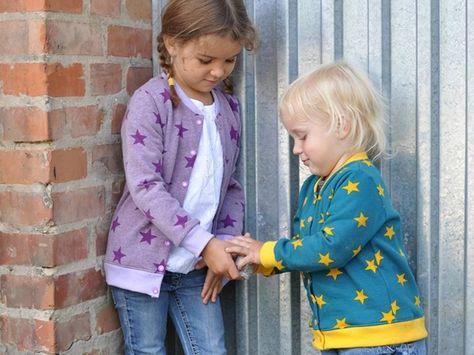DIY-Anleitung: Kinderjacke in Größe 44 bis 164 nähen via DaWanda.com