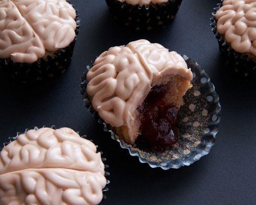 Oozing Brain Cupcakes - Zombie Cake Pops - Halloween - Holidays Cakegirls