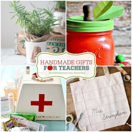The 36th AVENUE | Handmade Gifts for Teachers