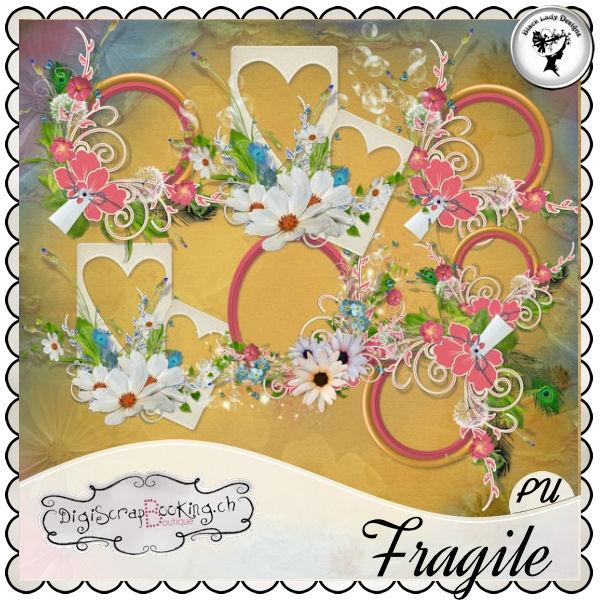 Fragile - Frames#2 by Black Lady Designs