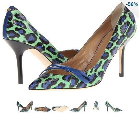Pantofi DSQUARED2 Ayers Pump animal print verde menta cu albastru si negru. Detalii aici http://thankyou.ws/pantofi-stiletto-din-piele-naturala-alege-calitatea #pantofisenzationali  #pantoficutocstiletto #pantofidinpielenaturala #pantofistilettopielenaturala #DSQUARED2 #AyersPump