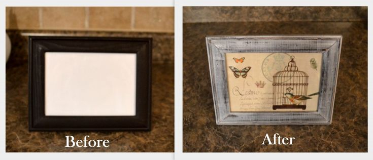 Easy DIY Distressed Picture Frame Tutorial - Craft Forum
