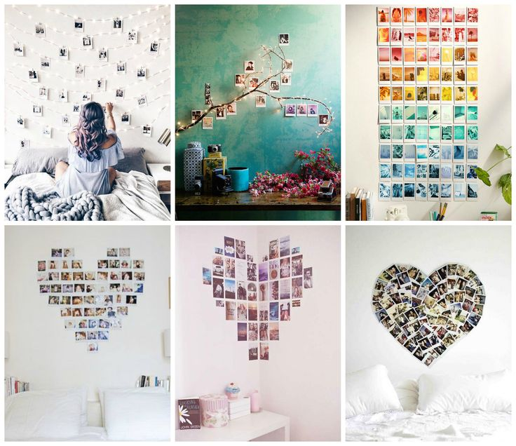 Idee fai da te con foto Polaroid - DIY ideas Polaroid photos.