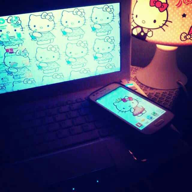 love to Look at mah gadget's screen..