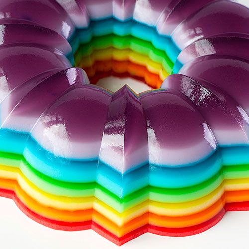 vodka rainbow jellyshot salad