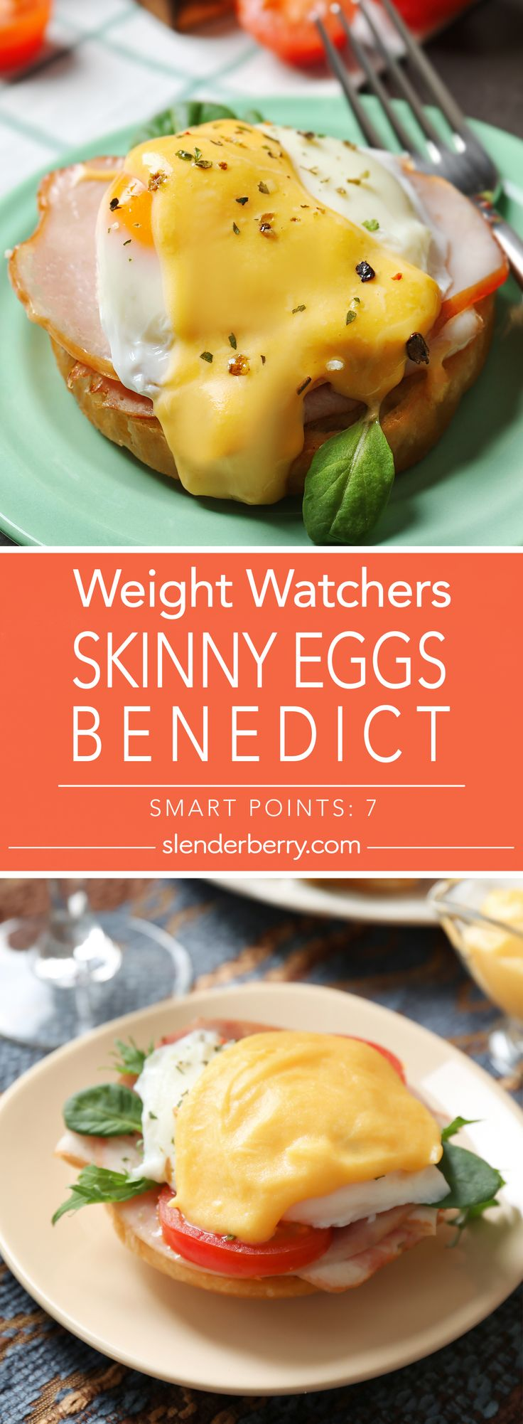 Weight Watchers Skinny Eggs Benedict Recipe - 7 Smart Points