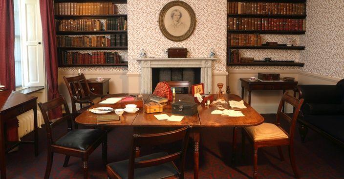 The Dining Room   Bronte Parsonage Museum
