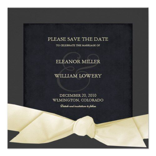 Best 25 Formal save the dates ideas on Pinterest