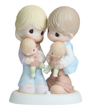 Look what I found on #zulily! Precious Moments Twins Figurine by Precious Moments #zulilyfinds