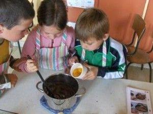 verschillende recepten met stappenplannen om samen te koken met de kleuters