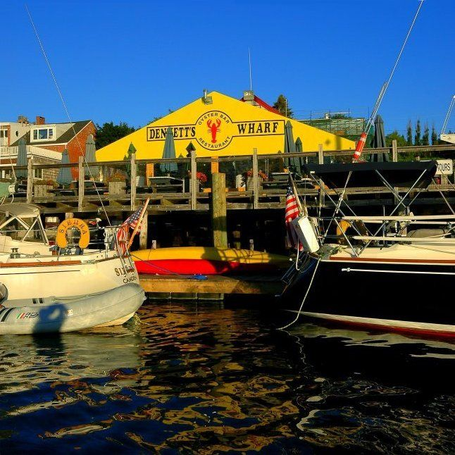 Dennets Wharf - Castine Maine...fun to sit and watch the fishermen come in with their goodies..clams are my favorite...