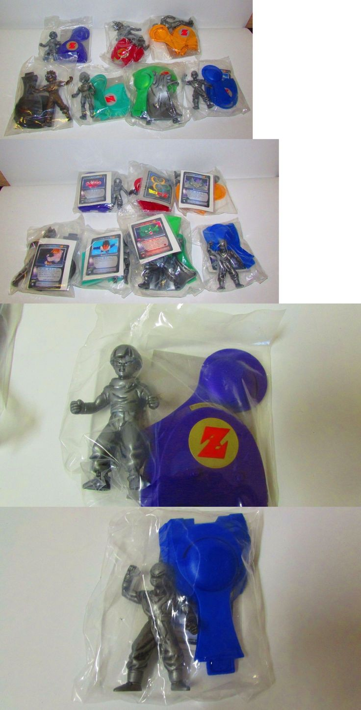 DragonBall Z 7117: Dragon Ball Z Burger King Promo Set Figures Sealed -> BUY IT NOW ONLY: $79.95 on eBay!