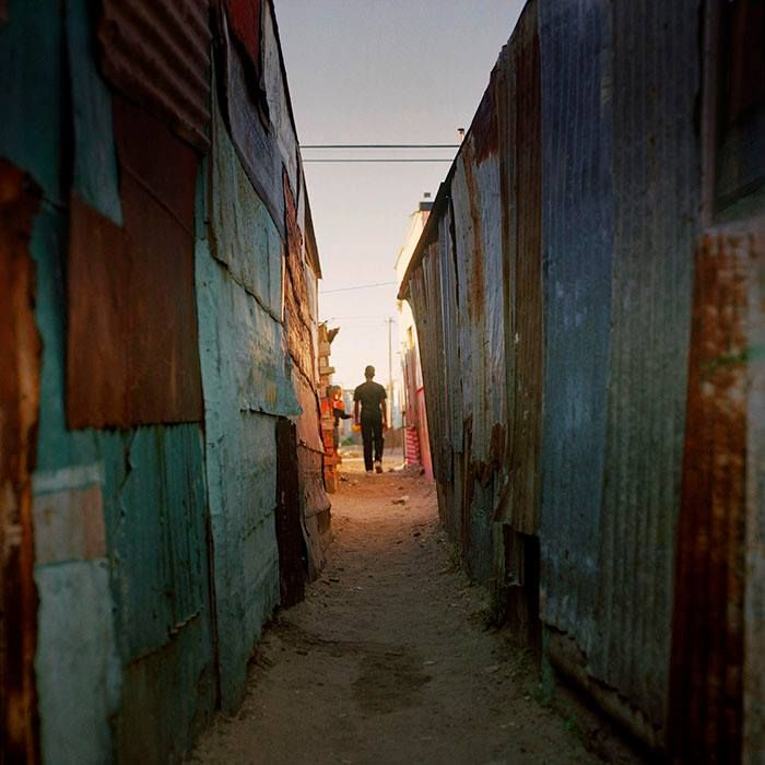 Photo: MARC SHOUL There are an estimated two million people living in the townships that surround the city of Cape Town and more people are arriving every day from the rural areas, seeking work and a better life.