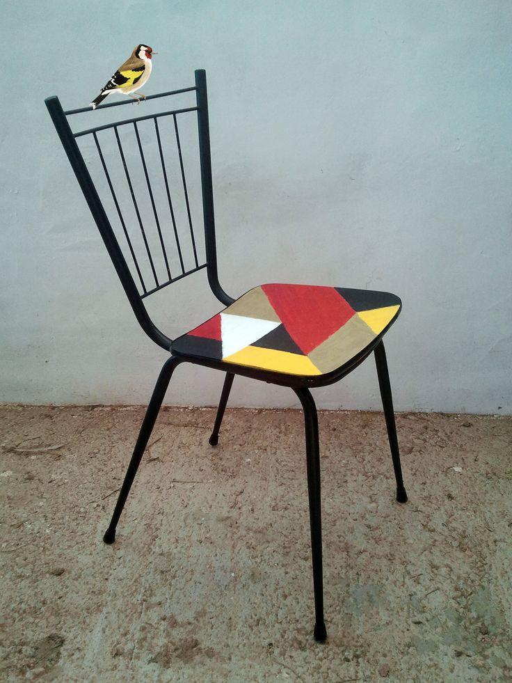 17 mejores ideas sobre silla de decoupage en pinterest muebles de decoupage colcha de papel y - Sillas formica ...