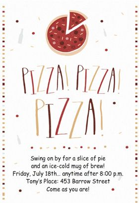 pizza pizza pizza printable invitation customize add text and photos print for free projects to try pizza party party invitations invitations