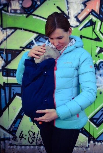 Jackenerweiterung für eine Babytrage - Nähanleitung via Makerist.de