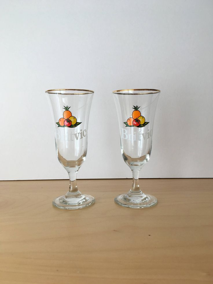 A personal favourite from my Etsy shop https://www.etsy.com/uk/listing/544156986/pair-of-vintage-britvic-juice-cocktail