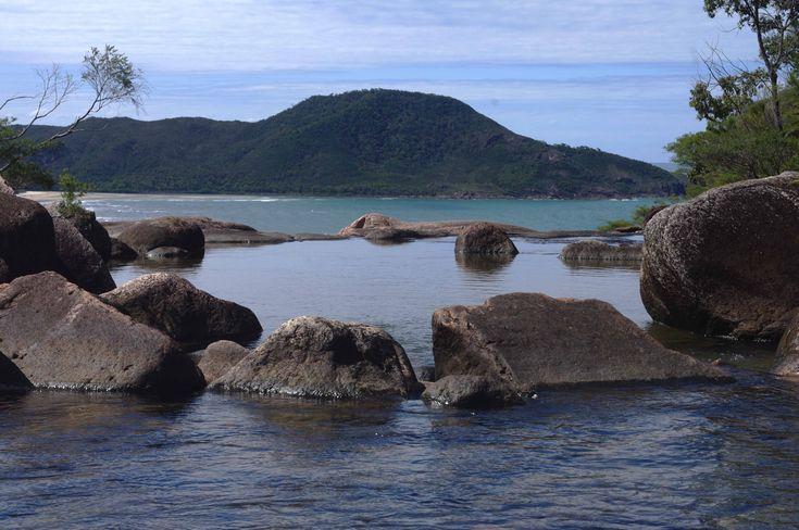 Zoe Falls - Hiking beautiful Hinchinbrook Island - a 4-day itinerary and packing list.
