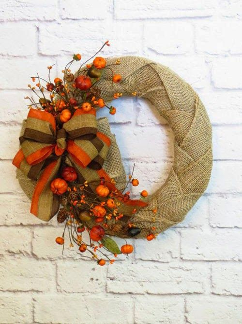 Festive creative ideas: Beautiful Autumn Tale knockers, door decorations
