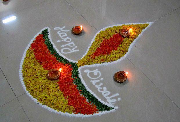 Diwali Rangoli Designs Images Pictures 2015