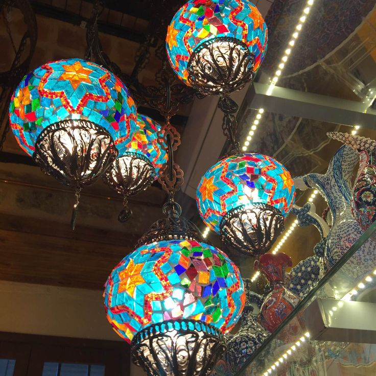 Turkish Lamps, Turkish Decor, Moroccan Decor, Circle Diameter, Silver Lamp,  Moroccan Lanterns, Grand Bazaar, Chandeliers, Colombia