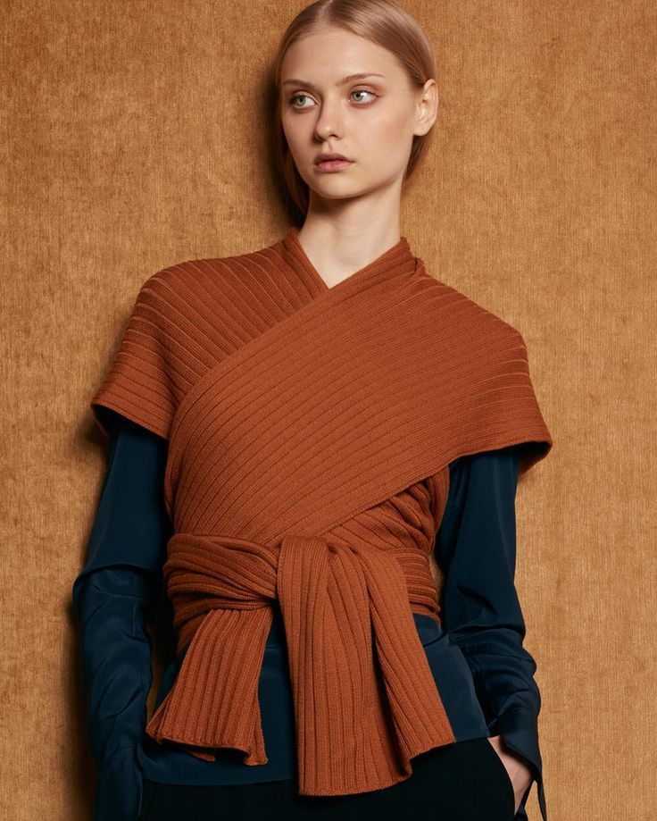 Wrap Sweater deluxe
