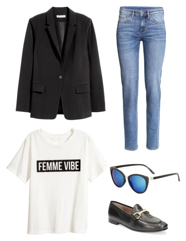 """""""Untitled #198"""" by stinasolheim on Polyvore featuring H&M and Topshop"""