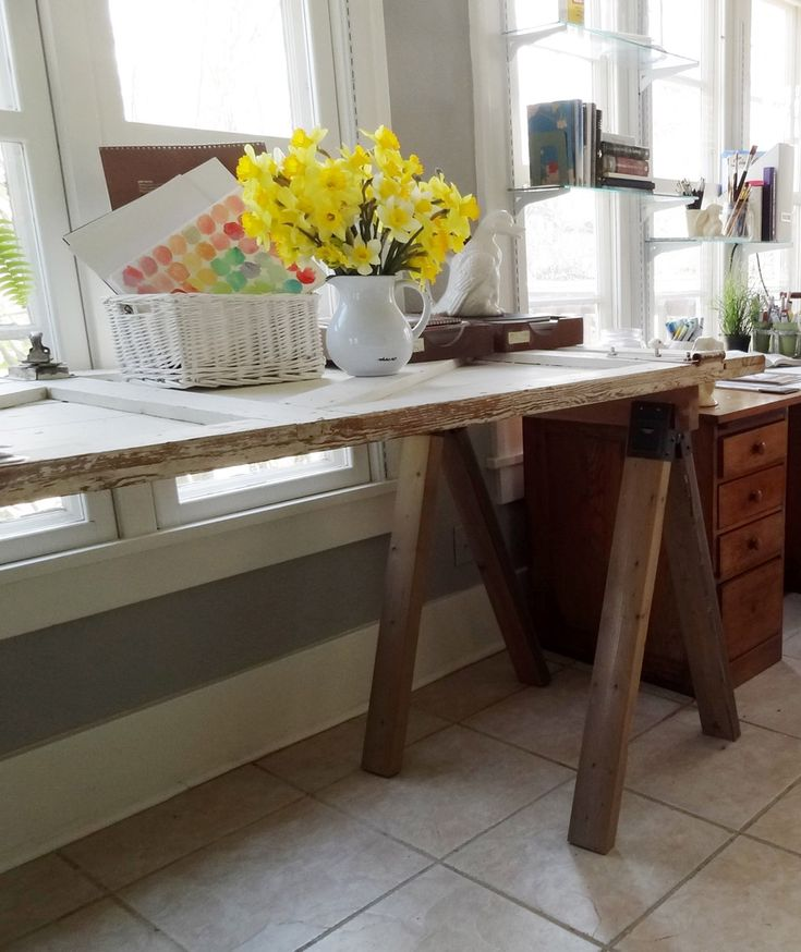 ... worked great as a countertop height work surface in my sunroom/studio
