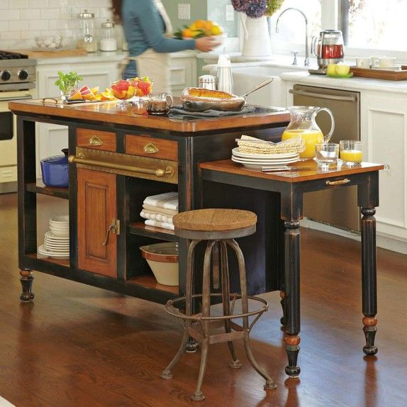 Bastille Kitchen Island | Williams-Sonoma or as a side buffet for the dining room.