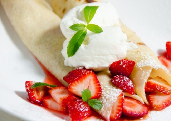 How To Make Strawberry Compote Crepes | Breakfast Recipe | Pinterest ...